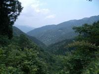 山々の眺め