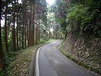 吉原への山道