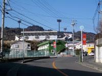 日本平(旧道)入口付近
