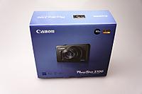 Canon PowerShot S100パッケージ