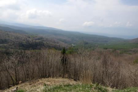 蓼科高原の光景