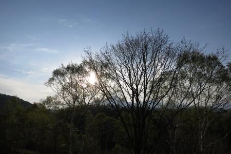 車山高原の朝
