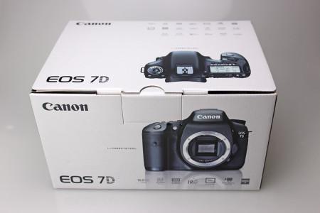 EOS 7Dのパッケージ