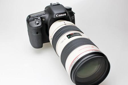 EF70-200mm F2.8L IS USMをセット