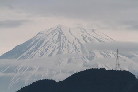 由比P.A.からの富士山