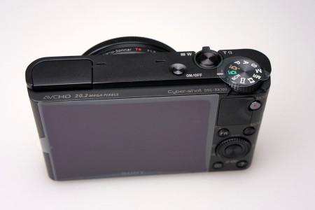 DSC-RX100本体背面