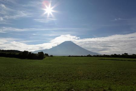 8月12日朝の富士山