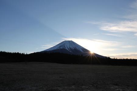 2013年富士山からの初日の出