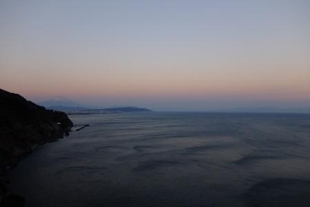 夕暮れの光景