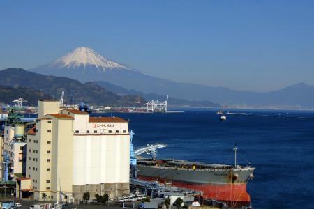 ドリプラ観覧車からの富士山