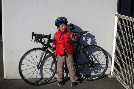 私の自転車と