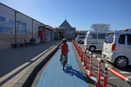 道の駅富士をスタート