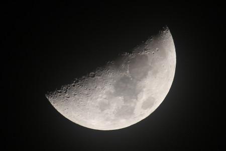 2013年3月19日の月面X