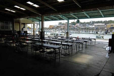 田子の浦漁協食堂