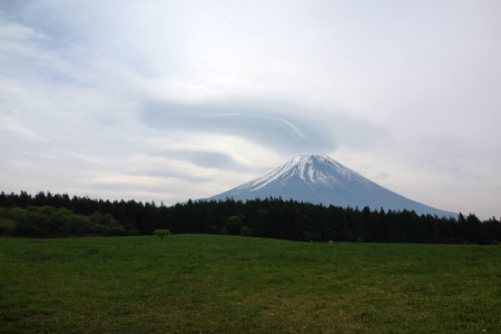 雲が増えて・・・