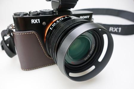 RX1に装着