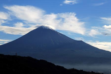 6月22日朝の富士山