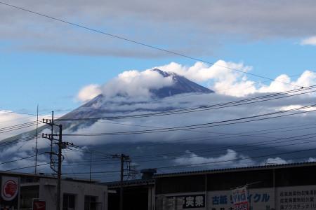 世界文化遺産登録決定時の富士山