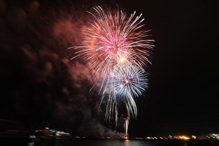 清水みなと祭り海上花火大会