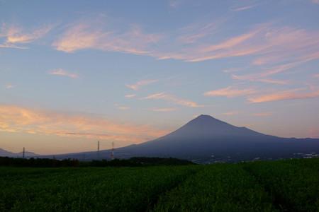 雲のダンスと富士山