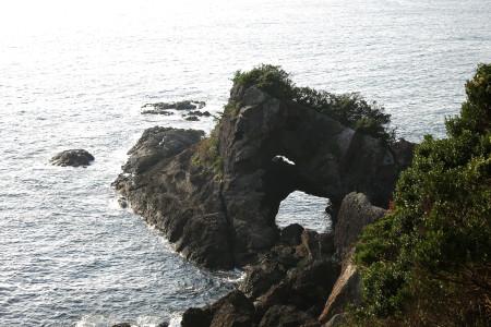 断崖絶壁の光景