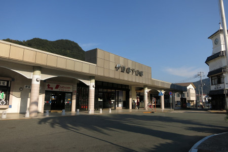 伊豆急下田駅到着