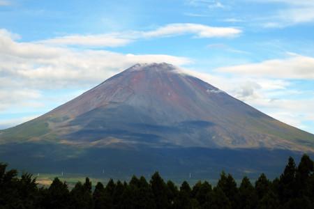 10月2日の御殿場からの富士山