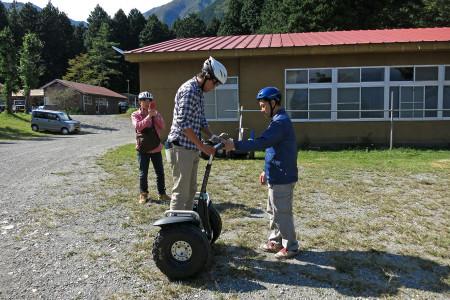 インストラクターによる乗り方講習