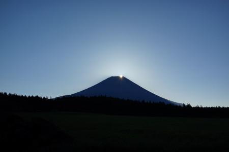 10月27日のダイヤモンド富士