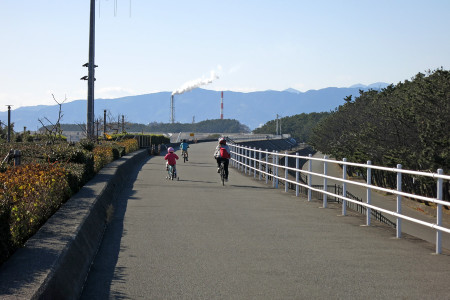 サイクリングスタート