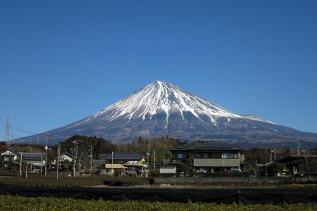 クリアな富士山