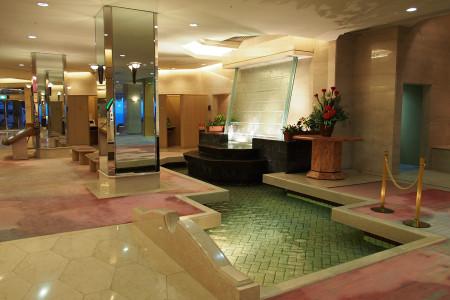 ホテルニュー銀水のエントランスホール