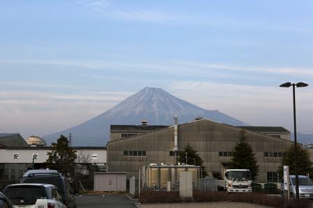 2月1日の富士山