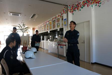 伊東警察警備課長さんの講話