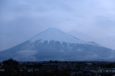 3月14日の富士山