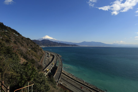 薩埵峠からの光景