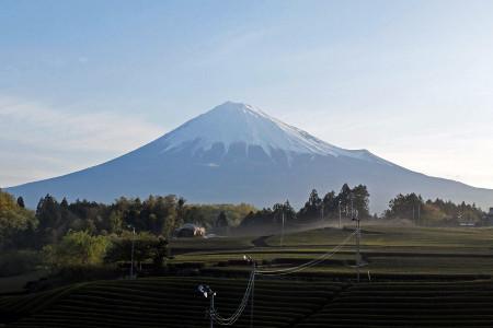 4月22日早朝の富士山