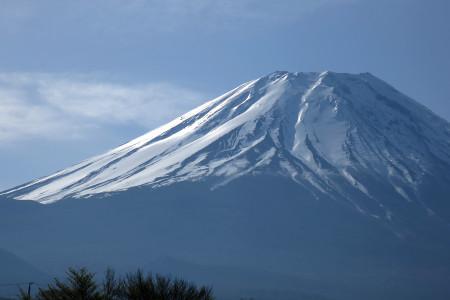 富士ヶ嶺近くの富士山