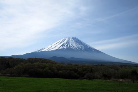 富士ヶ嶺付近からの富士山