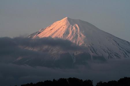 5月7日夕方の富士山