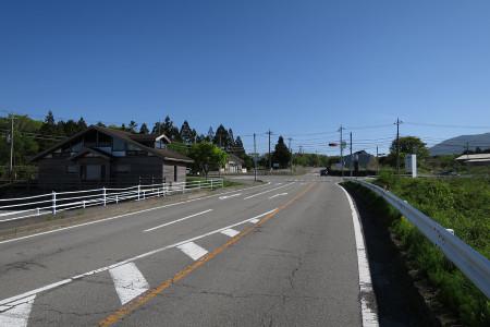 富士ヶ嶺JA駐車場前