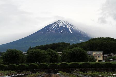 夏富士へと変貌中