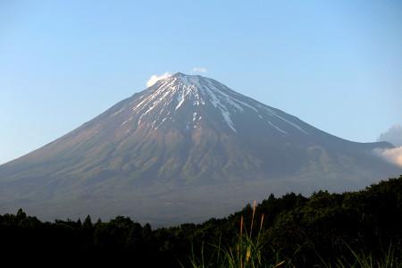 6月13日夕方の富士山(富士宮より)