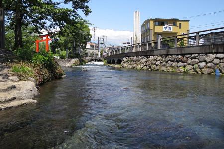 神田川に到着