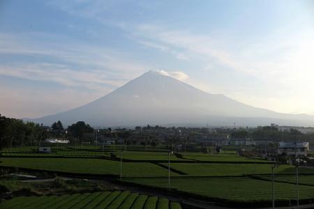 お山開き間近の富士山