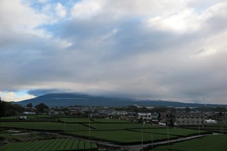 7月4日の富士山(裾野のみ)
