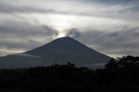 富士山は見えていたのですが