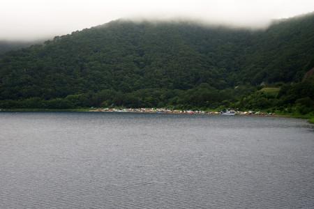 本栖湖の浩庵キャンプ場