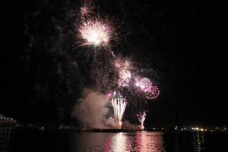 清水みなと祭り花火