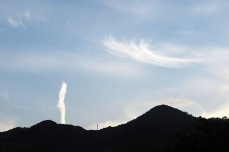 ニョロニョロ雲